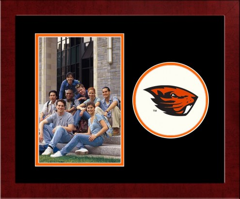 Oregon State Beavers Spirit Vertical Photo Frame
