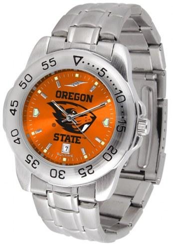 Oregon State Beavers Sport Steel AnoChrome Men's Watch