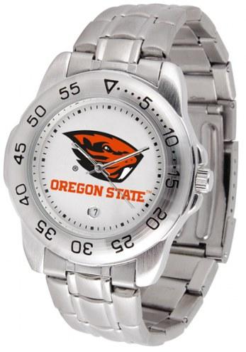 Oregon State Beavers Sport Steel Men's Watch