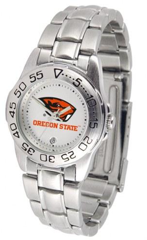 Oregon State Beavers Sport Steel Women's Watch