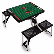 Oregon State Beavers Sports Folding Picnic Table