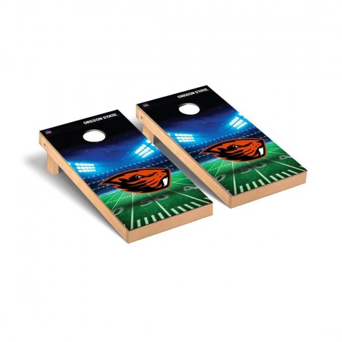 Oregon State Beavers Stadium Cornhole Game Set
