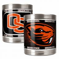 Oregon State Beavers Stainless Steel Hi-Def Coozie Set