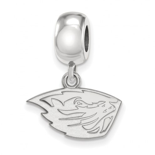 Oregon State Beavers Sterling Silver Extra Small Dangle Bead Charm