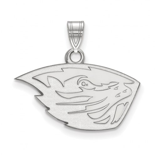 Oregon State Beavers Sterling Silver Small Pendant