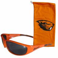 Oregon State Beavers Sunglasses and Bag Set