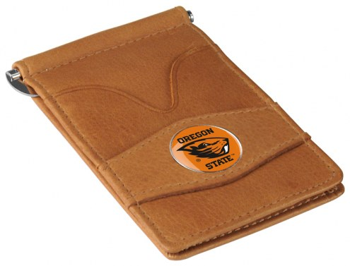Oregon State Beavers Tan Player's Wallet