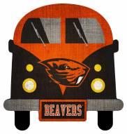 Oregon State Beavers Team Bus Sign