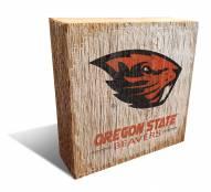 Oregon State Beavers Team Logo Block