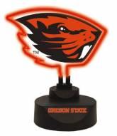 Oregon State Beavers Team Logo Neon Light
