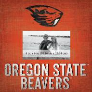 """Oregon State Beavers Team Name 10"""" x 10"""" Picture Frame"""