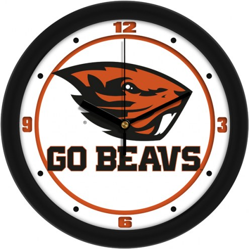 Oregon State Beavers Traditional Wall Clock
