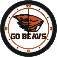 Oregon State Beavers Traditional Wall Clock