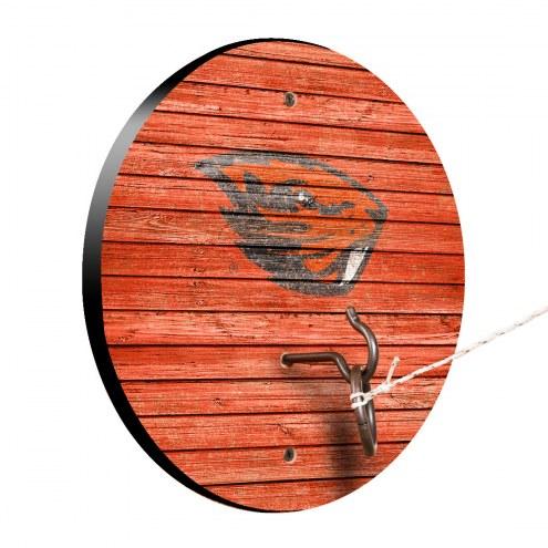 Oregon State Beavers Weathered Design Hook & Ring Game
