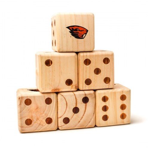 Oregon State Beavers Yard Dice
