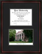 University of Oregon Diplomate Framed Lithograph with Diploma Opening