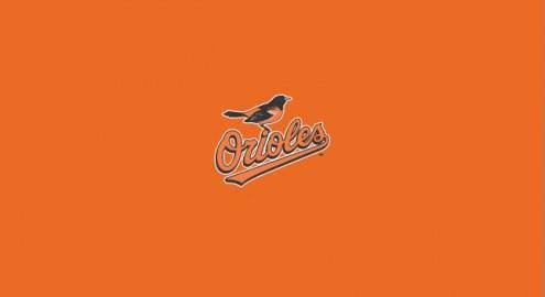 Baltimore Orioles MLB Team Logo Billiard Cloth