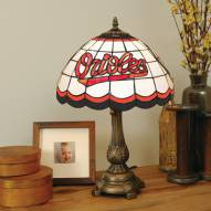 Baltimore Orioles MLB Stained Glass Table Lamp