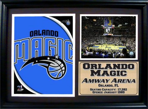 "Orlando Magic 12"" x 18"" Photo Stat Frame"