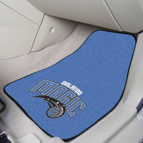 Orlando Magic 2-Piece Carpet Car Mats