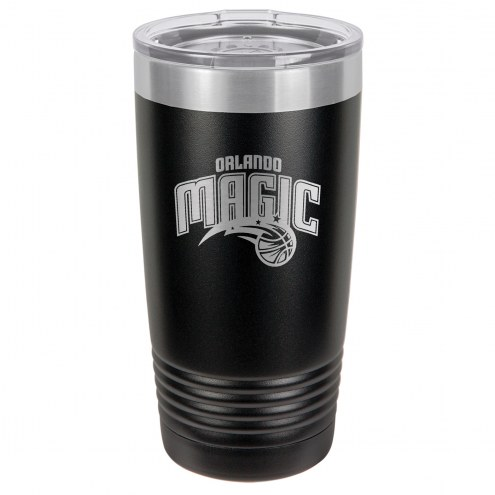 Orlando Magic 20 oz. Black Stainless Steel Polar Tumbler