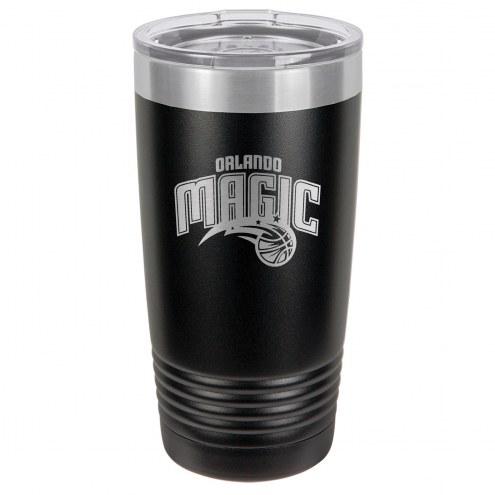 Orlando Magic 20 oz. Black Stainless Steel Polar Tumbler