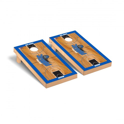 Orlando Magic Basketball Court Cornhole Game Set