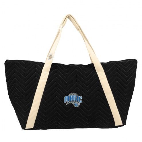 Orlando Magic Chevron Stitch Weekender Bag
