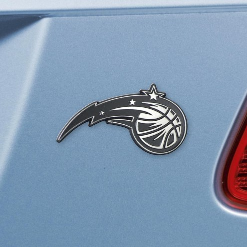 Orlando Magic Chrome Metal Car Emblem