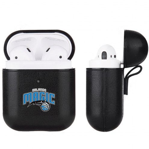 Orlando Magic Fan Brander Apple Air Pods Leather Case
