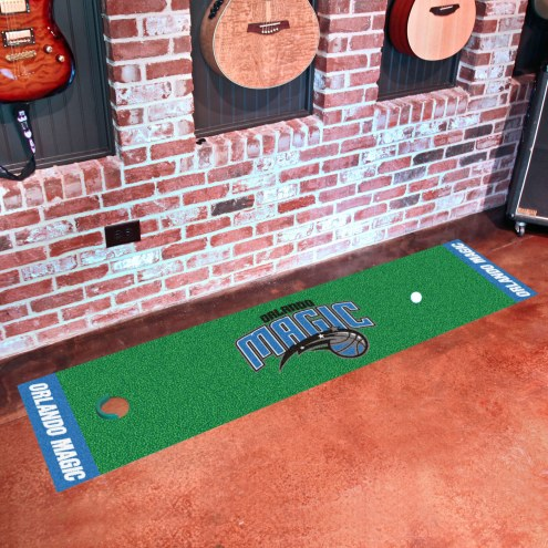 Orlando Magic Golf Putting Green Mat