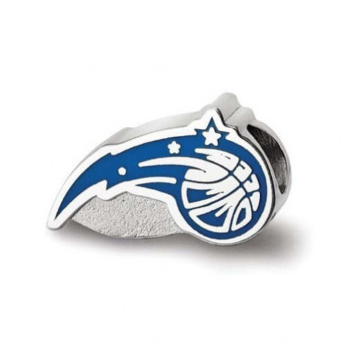 Orlando Magic Sterling Silver Enameled Bead
