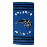 Orlando Magic Stripes Beach Towel