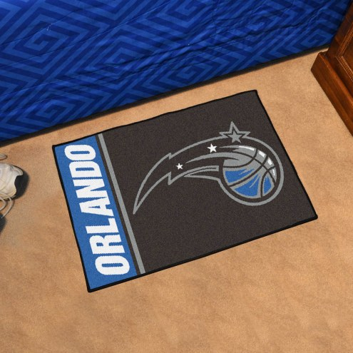 Orlando Magic Uniform Inspired Starter Rug