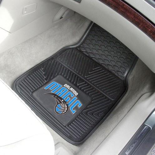 Orlando Magic Vinyl 2-Piece Car Floor Mats
