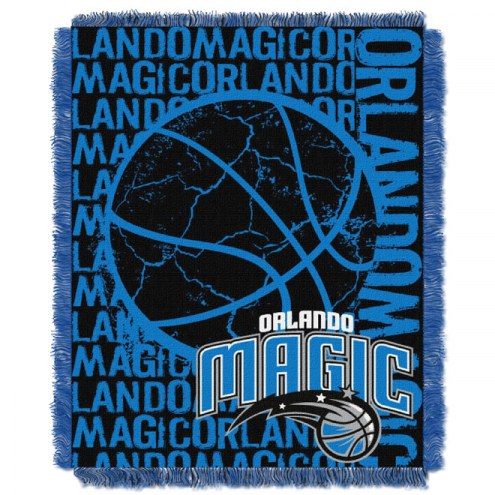 Orlando Magic Woven Jacquard Throw Blanket
