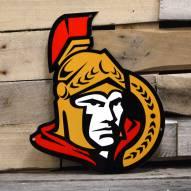 "Ottawa Senators 12"" Steel Logo Sign"