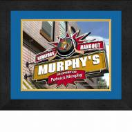 Ottawa Senators 13 x 16 Personalized Framed Sports Pub Print