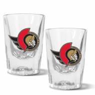 Ottawa Senators 2 oz. Prism Shot Glass Set