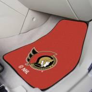 Ottawa Senators 2-Piece Carpet Car Mats