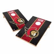 Ottawa Senators 2' x 3' Vintage Wood Cornhole Game