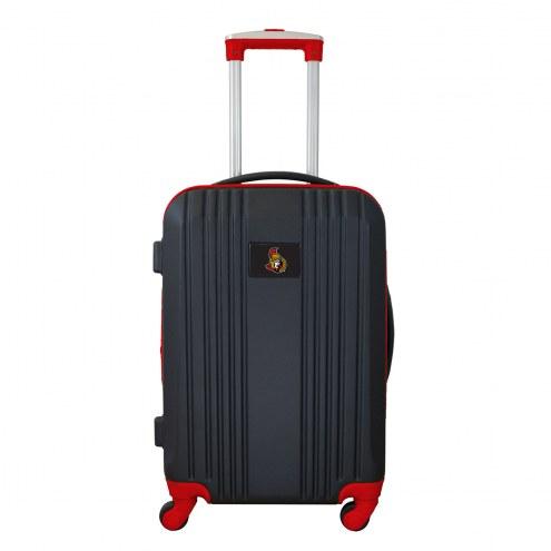"""Ottawa Senators 21"""" Hardcase Luggage Carry-on Spinner"""