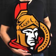 "Ottawa Senators 24"" Steel Logo Sign"