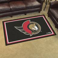 Ottawa Senators 4' x 6' Area Rug