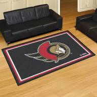 Ottawa Senators 5' x 8' Area Rug