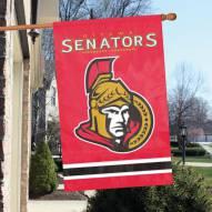 Ottawa Senators Applique Banner Flag