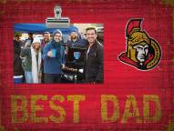 Ottawa Senators Best Dad Clip Frame