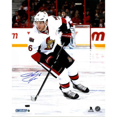 "Ottawa Senators Bobby Ryan Skating Against the Anaheim Ducks Signed 16"" x 20"" Photo"