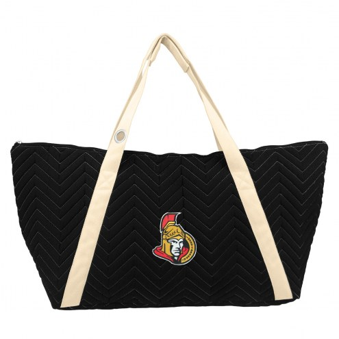 Ottawa Senators Chevron Stitch Weekender Bag
