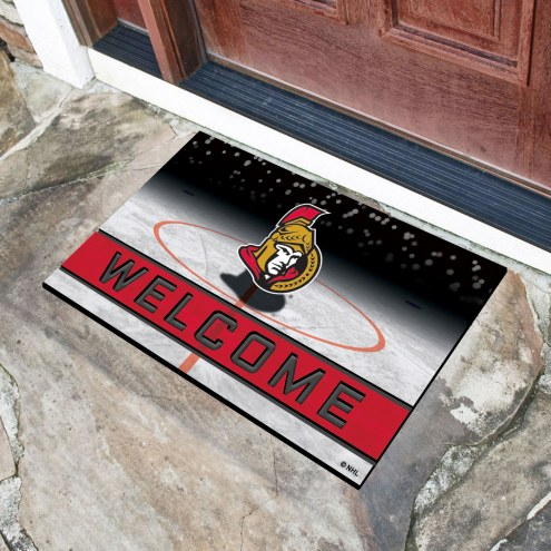 Ottawa Senators Crumb Rubber Door Mat